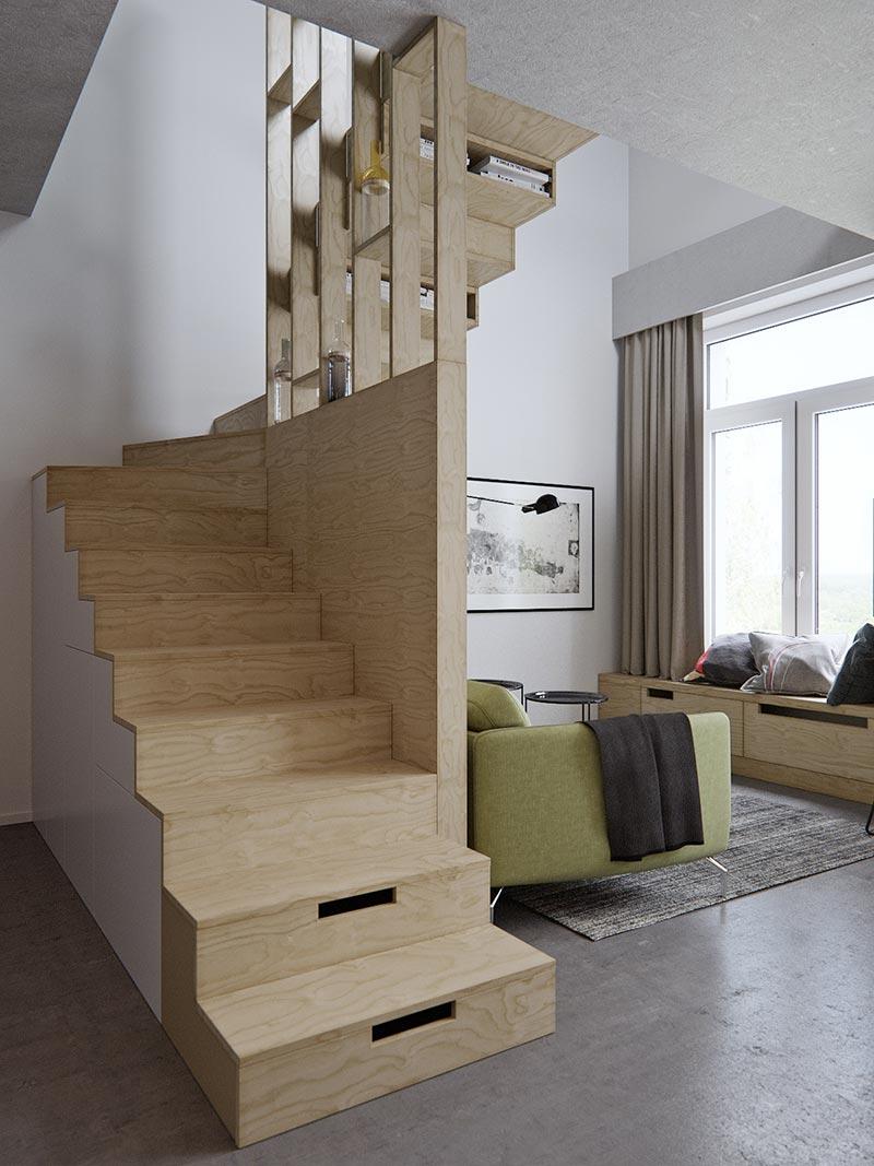 Studio Apartment Architecture