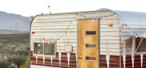 tiny vintage trailer makeover 300x140 - The Nugget Trailer Makeover