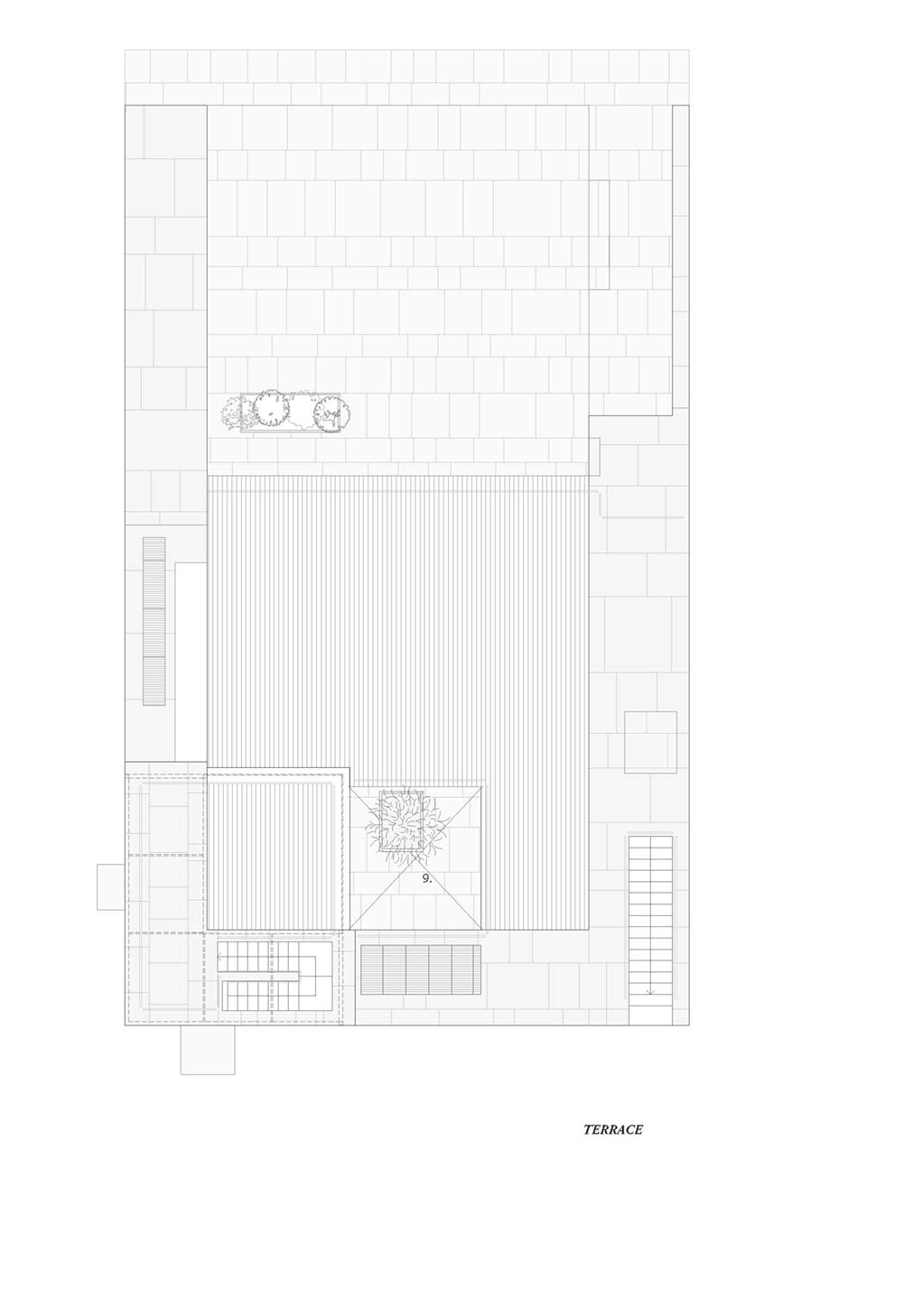 towering home courtyard plan hs4 - The Courtowers