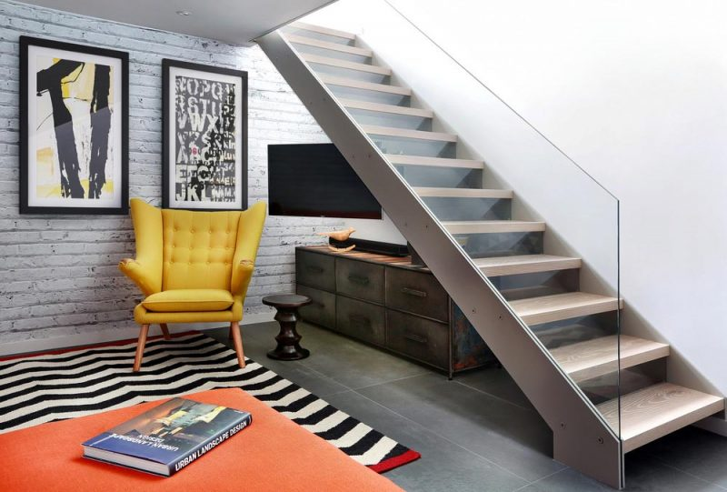 4 story townhouse beautifully redesigned in highgate london for Townhouse interior design