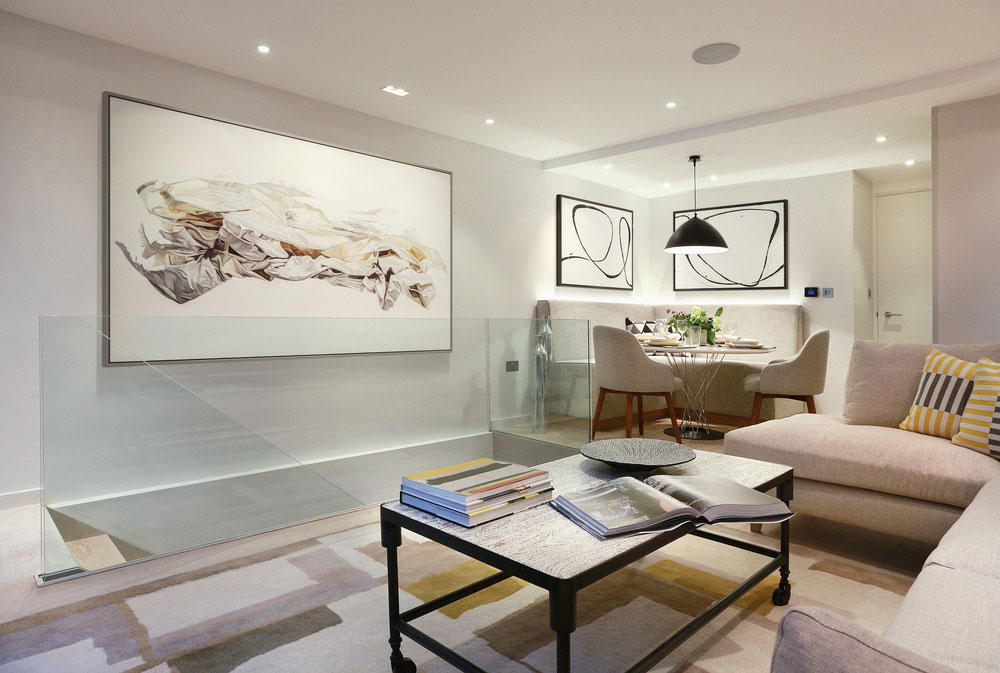 4 story townhouse beautifully redesigned in highgate london for Interior designs for townhouses