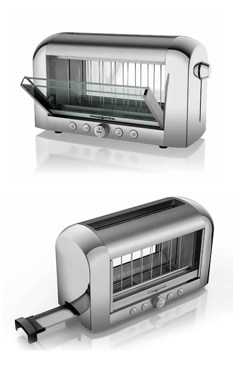 magimix vision toaster what you see is what you get appliances. Black Bedroom Furniture Sets. Home Design Ideas