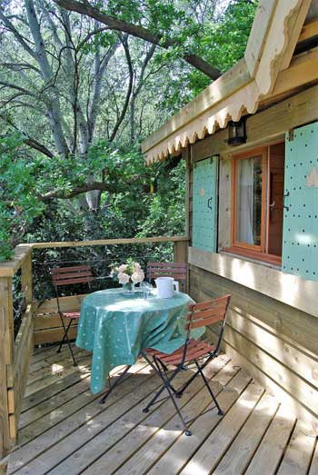 treehouse cabin pavilion 6 - The Green Pavilion: A B&B Treehouse