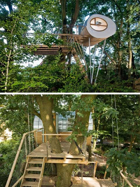 treehouse design djuren 6 - Djuren treehouse: A nest for the whole family