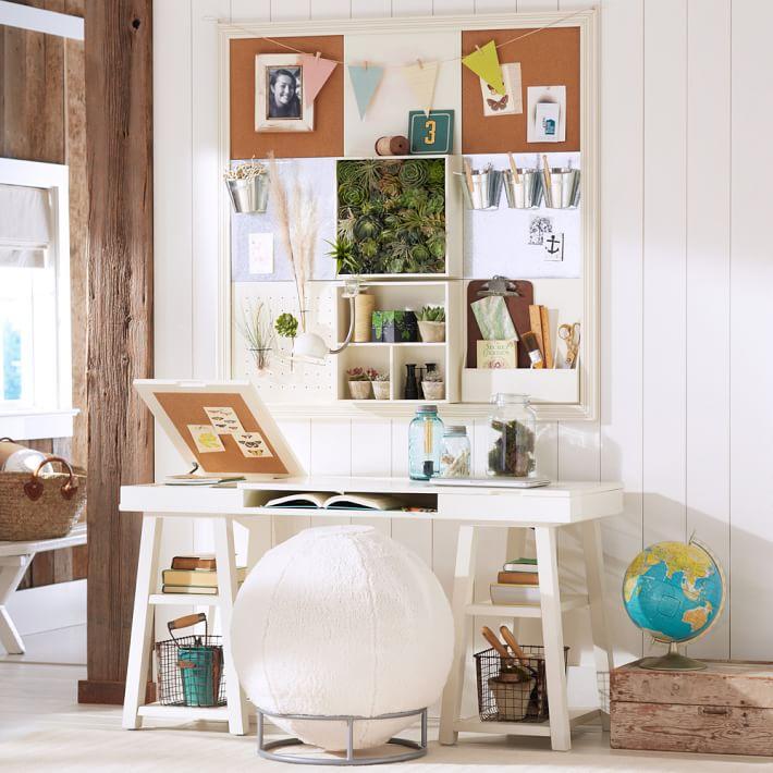Trestle Desk Storage Pbt Customize It Project