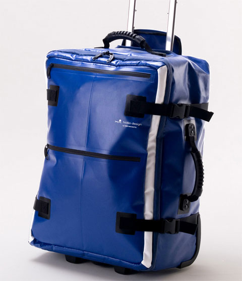 trolley-suitcase-blue-tarpaulin