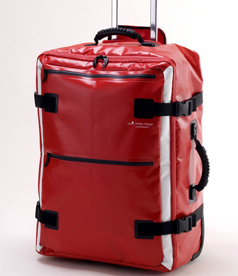 trolley-suitcase-red-tarpaulin