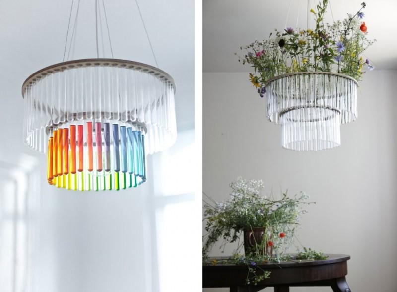 tube chandelier msc2 800x588 - Maria S.C. Chandelier