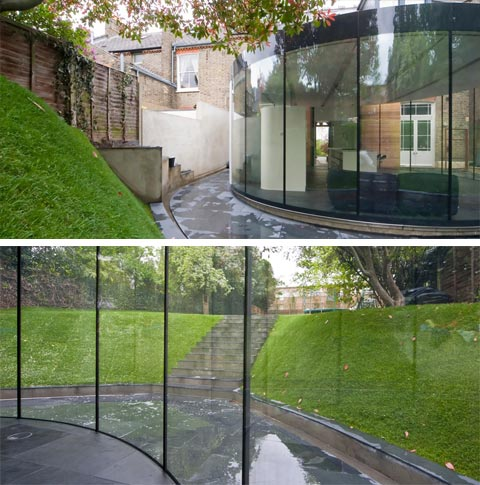 Oval House Extension: Round and Round - Home Extensions