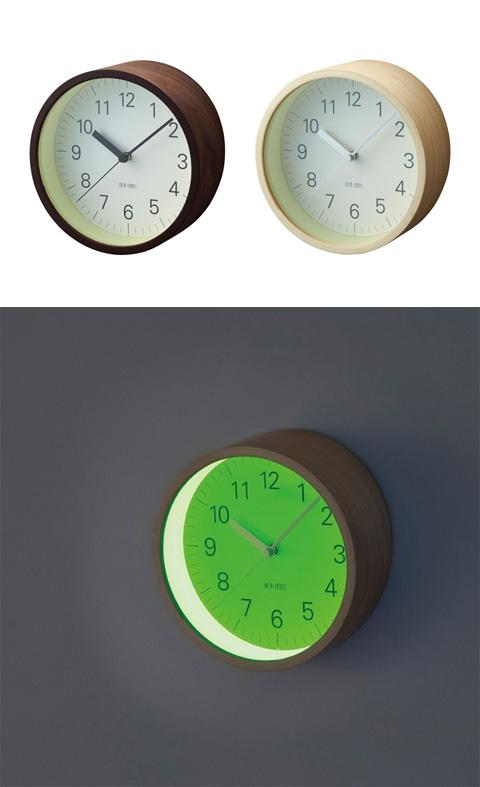 Lumino Wall Clock It S A Full Moon O Clock Tonight Art