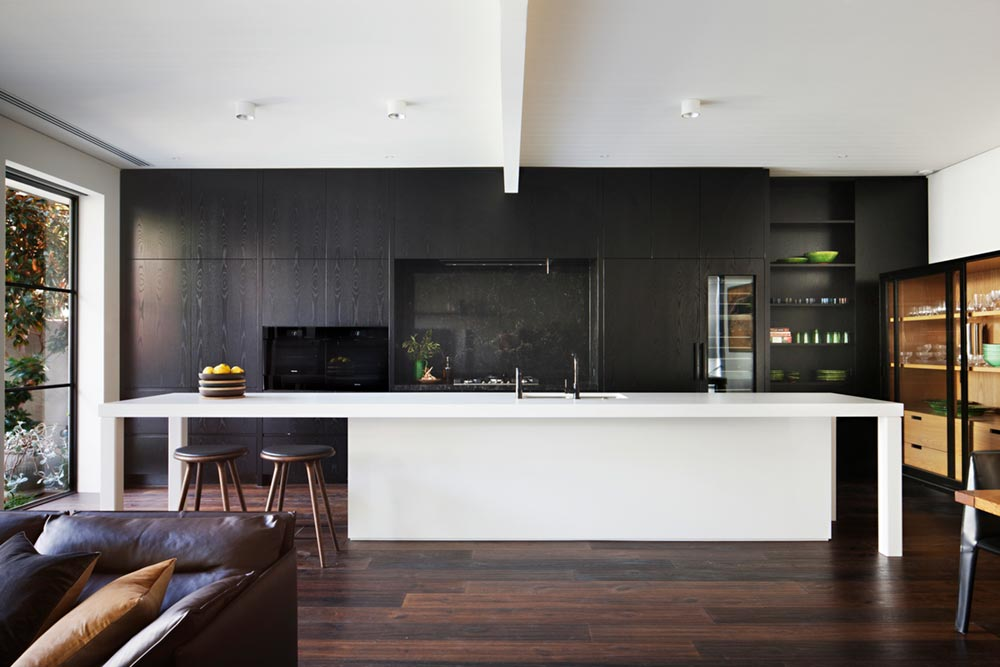victorian terrace house kitchen design hc - Albert Park House