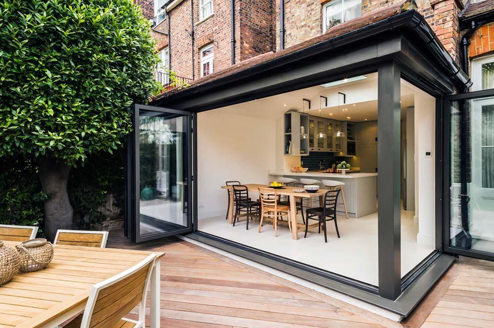victorian townhouse kitchen extension lli 1000x665 - Highgate Victorian Townhouse