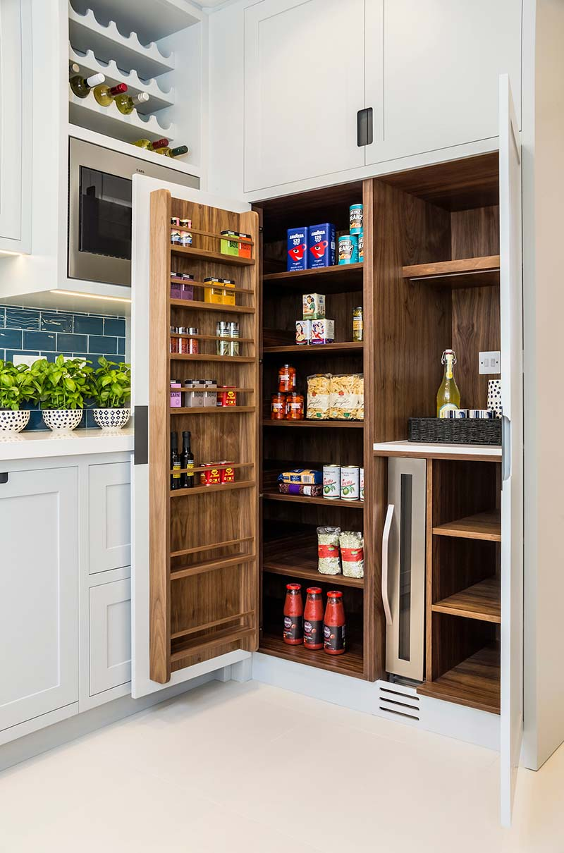 victorian townhouse kitchen pantry design lli - Highgate Victorian Townhouse