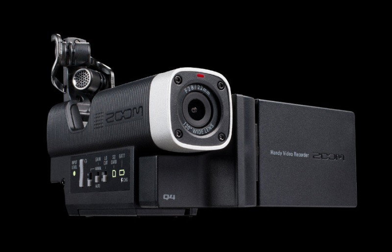 video camera zoom q4 800x515 - Zoom Q4 Video Recorder: Sensitive Audio, High-Definition Video