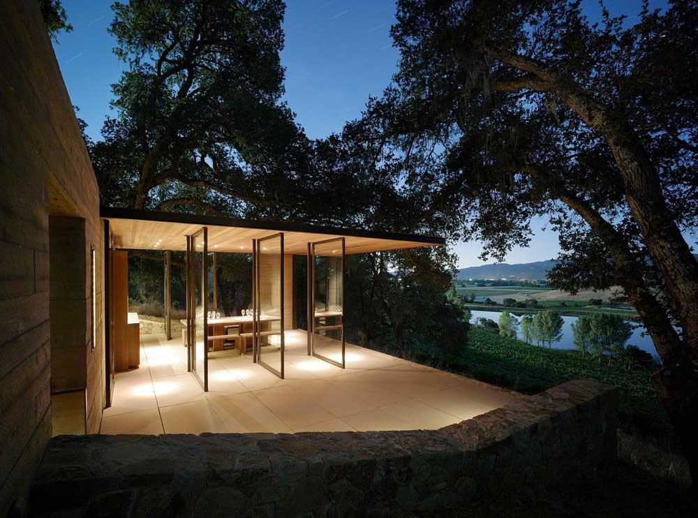 vineyard glass pavilion design wwa2 - Quintessa Pavilions