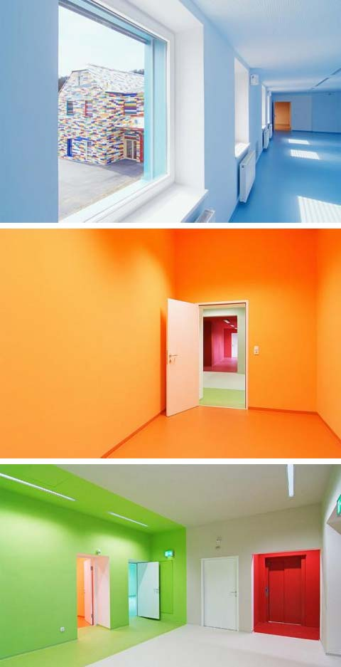 House Wall Colors froschkoenig: the power of color - modern architecture