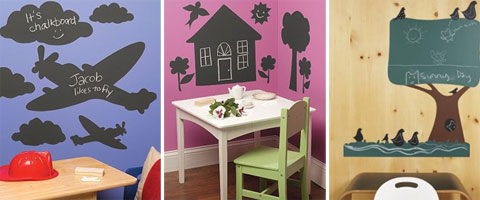 wall stickers chalkboard - ChalkBoard Wall Stickers