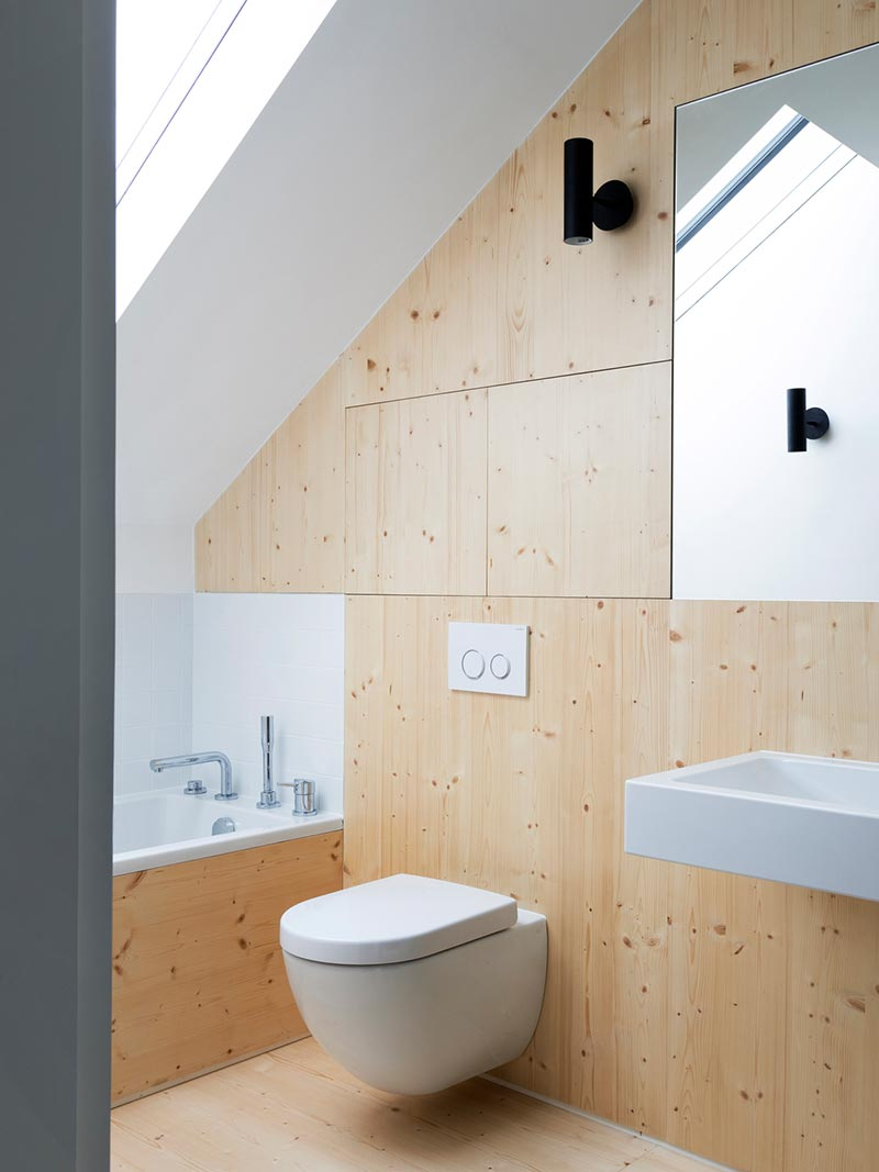 warehouse home bathroom design - Defoe Road Warehouse Conversion