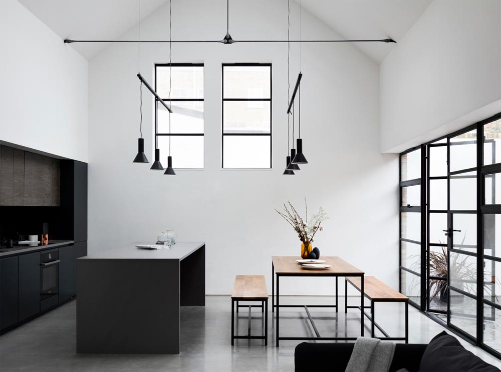 warehouse home kitchen design - Defoe Road Warehouse Conversion