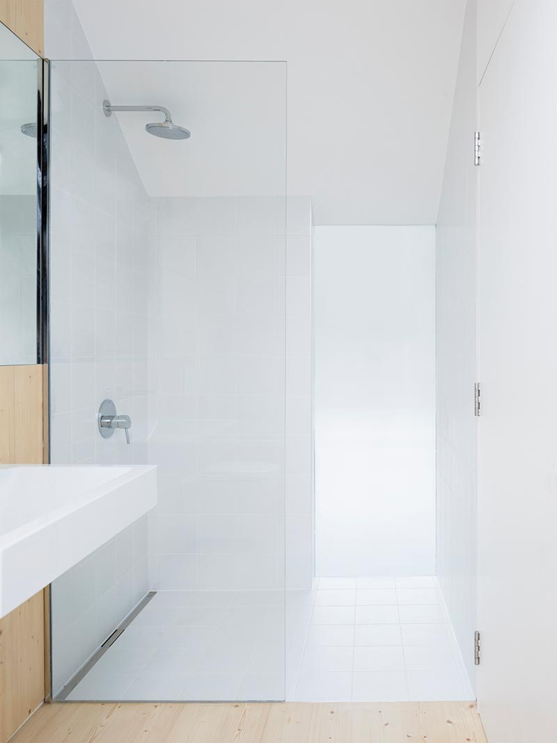 warehouse home shower design - Defoe Road Warehouse Conversion