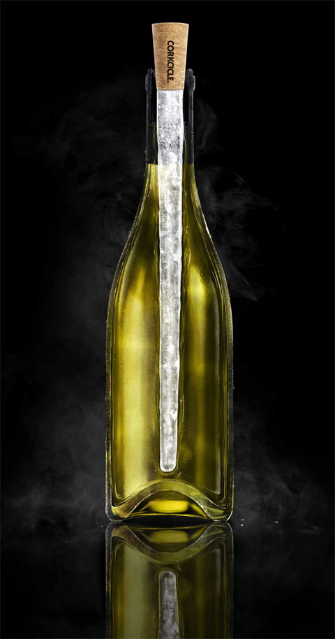 wine cooler corkcicle 3 - Corkcicle: perfect wine every time