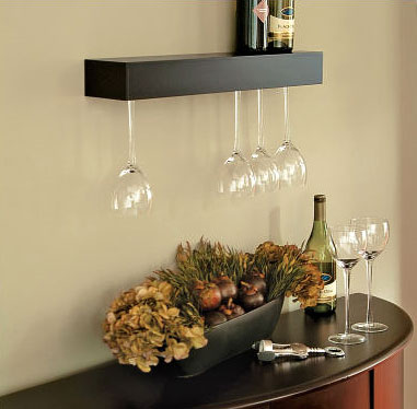 Wine Gifts: Floating Shelf - Storage & Organizing, Wine & Bar