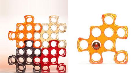 wine storage rack puzzle - Puzzle Wine Rack