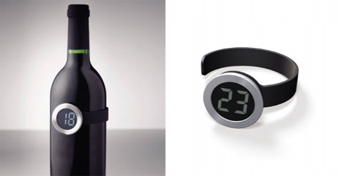wine thermometer menu - Wine Thermometer by Menu