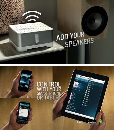 wireless music sonos - Connect Amp: Wireless HiFi System for Speakers