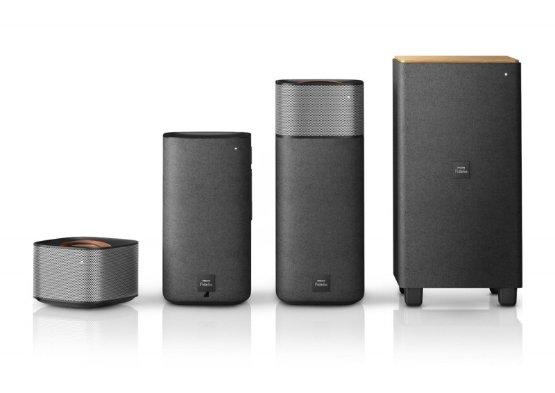 wireless sound system philips 3 800x566 - Philips Fidelio E5 Wireless Surround Sound Speakers