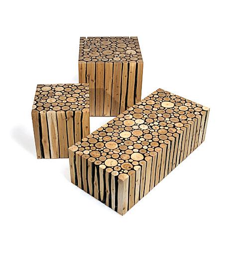 Delightful Wood Furniture Set Alder