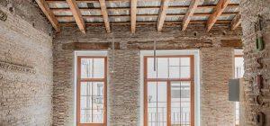 wood stone kitchen counter design 300x140 - Apartment Musico Iturbi