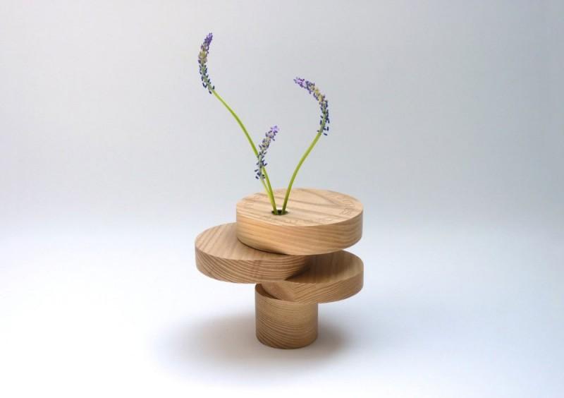 wooden vase equilibrium 800x564 - Bonsai Equilibrium Vase