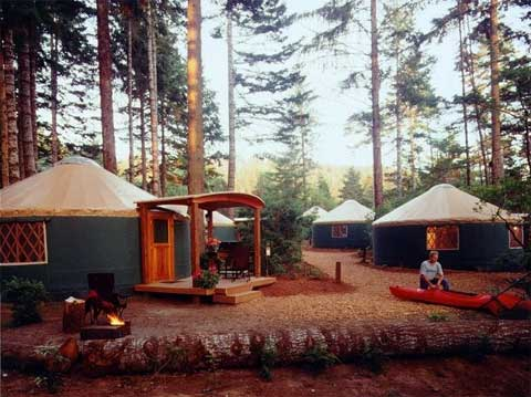 12 Unusual And Creative Tree Houses further Attic 20bedroom besides Log Cabin Interior Design likewise See You Around Impressive Circular Homes further Traditional Yurt Interiors. on cabin yurt homes